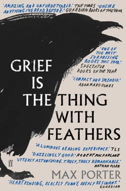 Grief is the Thing with Feathers (paperback edition)