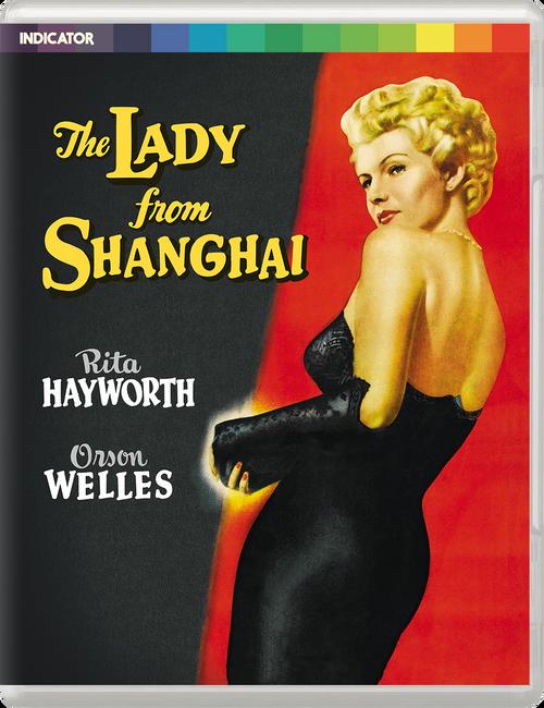 The Lady from Shanghai (All-region blu-ray/DVD)