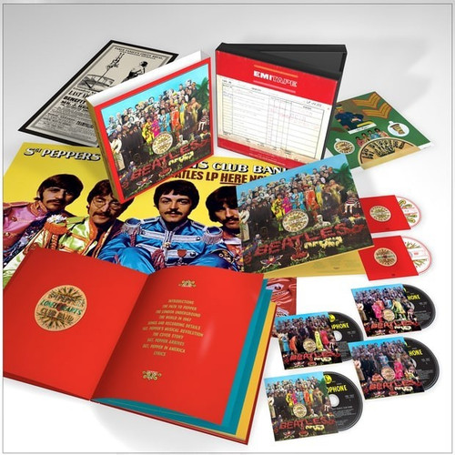 Sgt Pepper's Lonely Hearts Club Band (Japanese super deluxe edition)