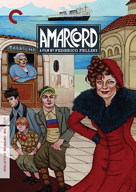 Amarcord (Criterion region-1 2DVD)