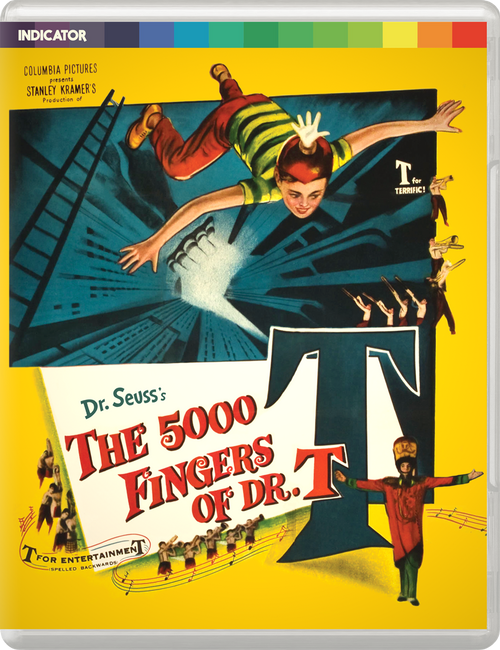 The 5000 Fingers of Dr. T (region-free blu-ray/DVD)