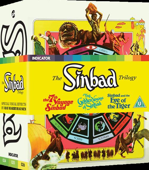 The Sinbad Trilogy (region-free blu-ray/DVD box set)