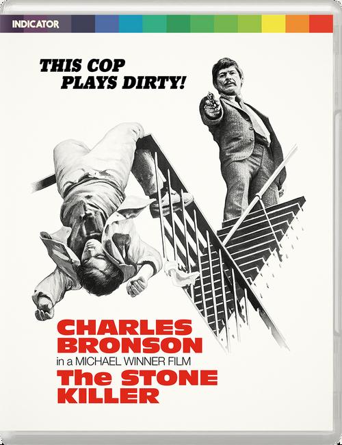 The Stone Killer (region-free blu-ray/DVD)