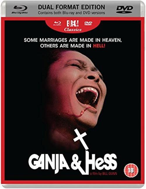 Ganja & Hess (region B/2 Blu-ray,DVD)