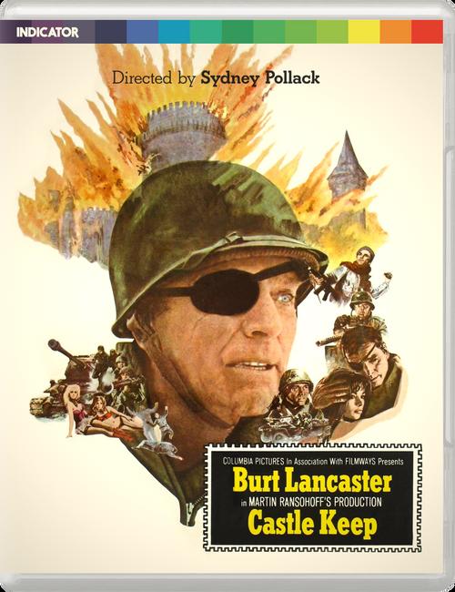 Castle Keep (region-free blu-ray/DVD)