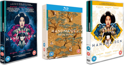 The Handmaiden special edition (extended & theatrical cuts region-B blu-ray)