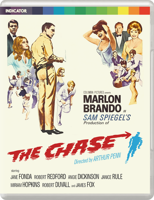 The Chase (region-free blu-ray/DVD)