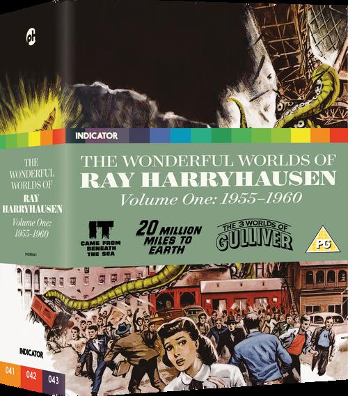 The Wonderful Worlds of Ray Harryhausen Volume One: 1955-1960 (region-free blu-ray/DVD)
