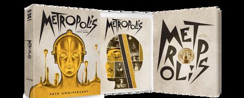 Metropolis: 90th Anniversary (region-B/2 2blu-ray/DVD)