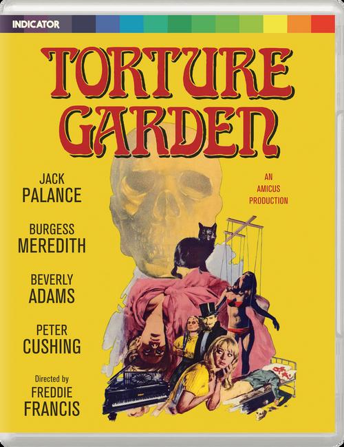 Torture Garden (region-free blu-ray/DVD)