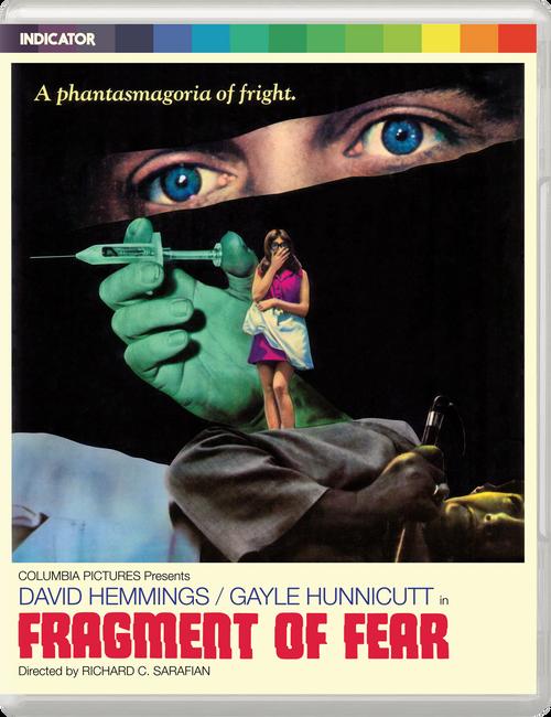 Fragment of Fear (region-free blu-ray/DVD)