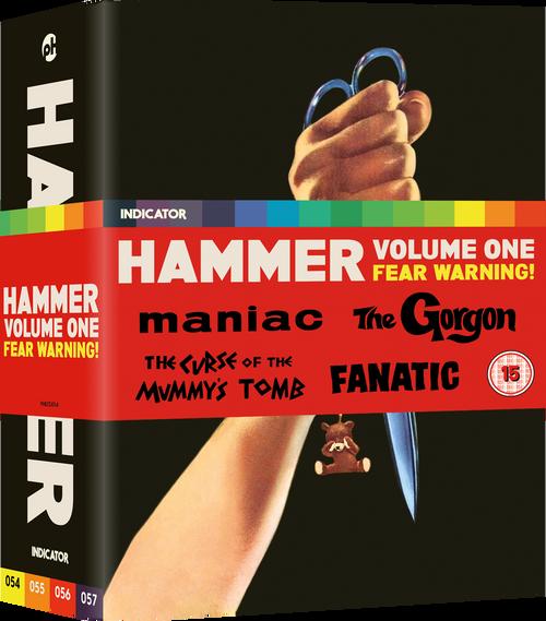 Hammer Volume One: Fear Warning! (region-free blu-ray/DVD box set)