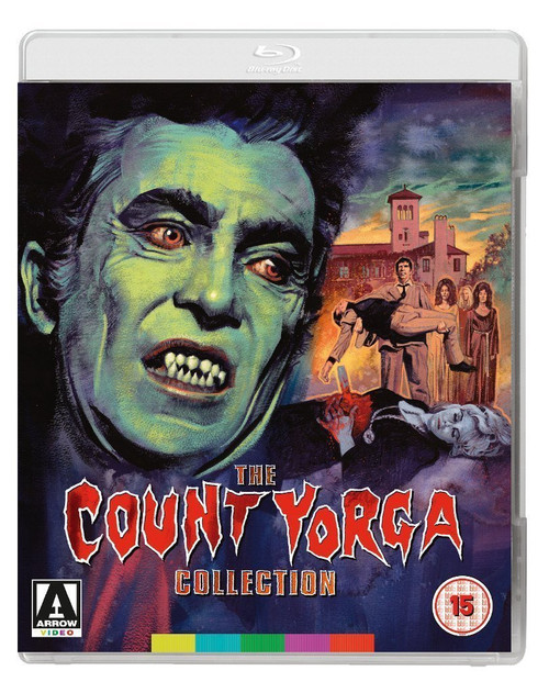 The Count Yorga Collection (region-B blu-ray)