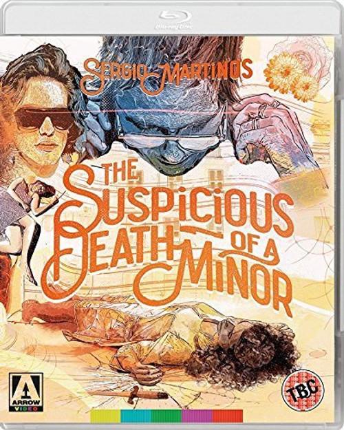 The Suspicious Death of a Minor (region-B/2 blu-ray/DVD)