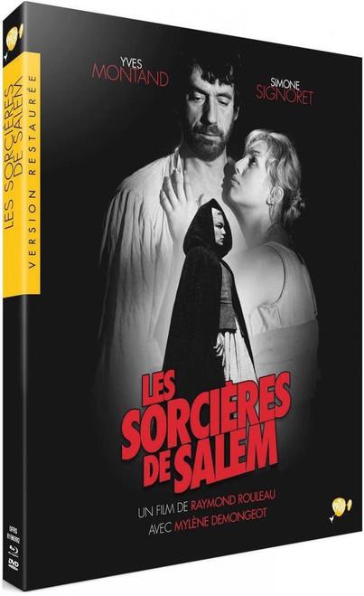 Les Sorcieres de Salem (The Crucible) Region-free/2 blu-ray/DVD