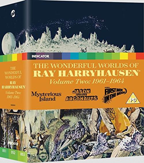 The Wonderful Worlds of Ray Harryhausen Volume Two: 1961-1964 (blu-ray/DVD box set)