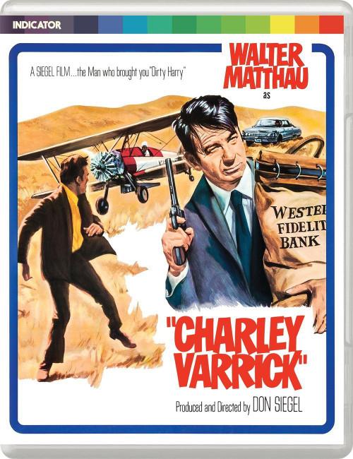 Charley Varrick (region-free blu-ray)