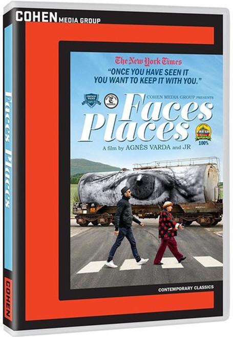 Faces Places (region-1 DVD)