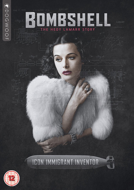 Bombshell: The Hedy Lamarr Story (region-2 DVD)