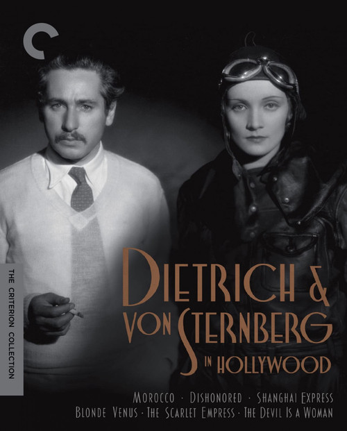 Dietrich and Von Sternberg in Hollywood (Criterion region-1 6DVD box)