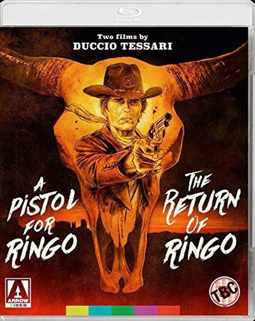 A Pistol for Ringo / The Return of Ringo (region-A blu-ray)