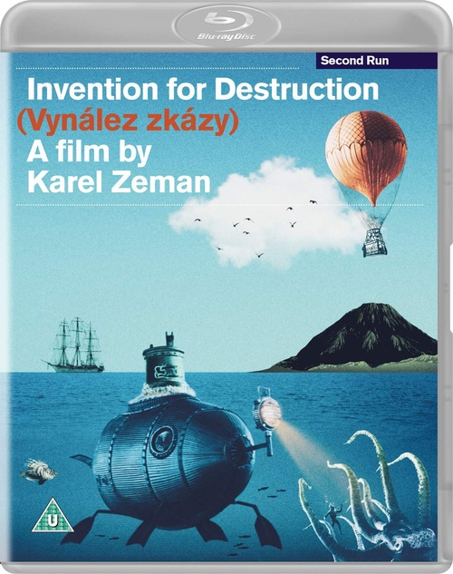 Invention for Destruction (region-free blu-ray)