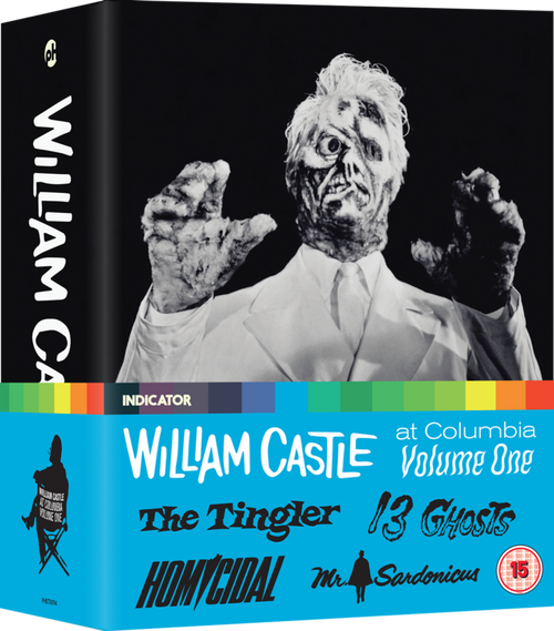 William Castle at Columbia vol.1 (region-free Blu-ray box set)