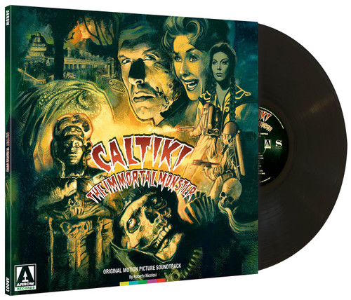 Caltiki, the Immortal Monster! (original soundtrack LP)