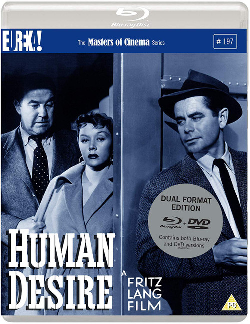 Human Desire (region-B/2 blu-ray/DVD)