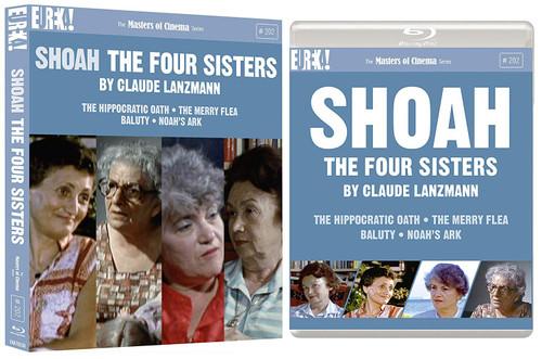 Shoah: The Four Sisters (region-B double blu-ray)