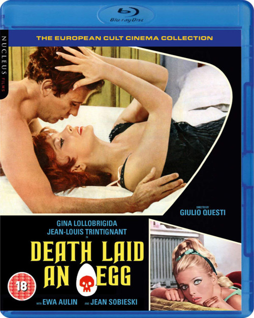 Death Laid an Egg (region-B blu-ray)