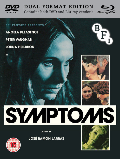Symtoms (region B/2 blu-ray/DVD)