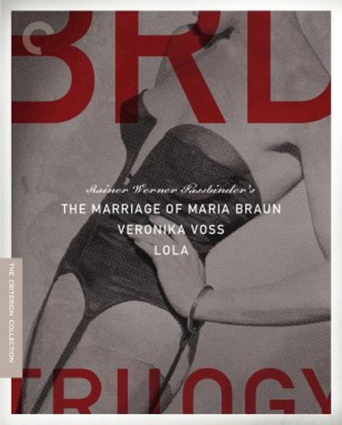 The BRD Trilogy (Criterion region-A Blu-ray box set)