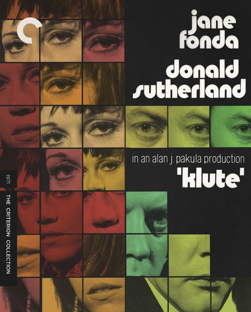 Klute (Criterion region-A Blu-ray)