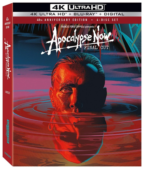 Apocalypse Now: Final Cut (region-free 2/4 4K/blu-ray)