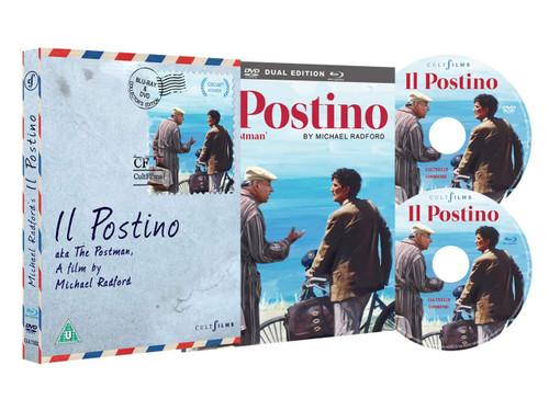 Il Postino (region-free Blu-ray/DVD combo)