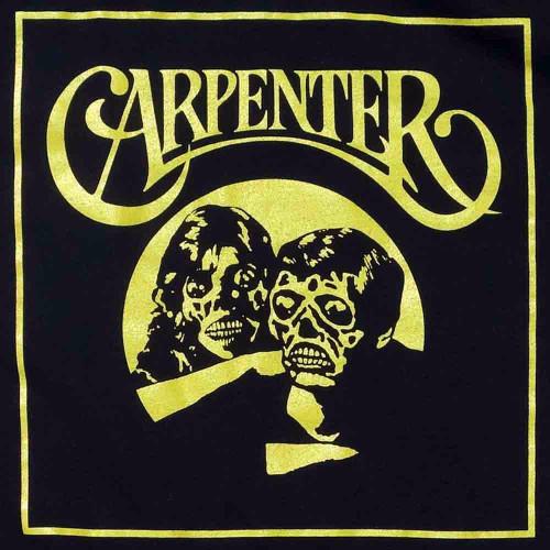 Carpenter-black (Cinemetal t-shirt)