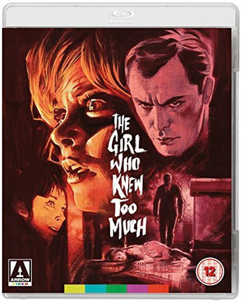 The Girl Who Knew Too Much (region-B/2 blu-ray/DVD)