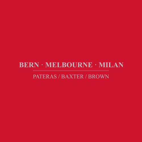 Bern Melbourne Milan (2CD set)