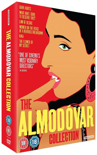 The Almodovar Collection (region-2 DVD box set)