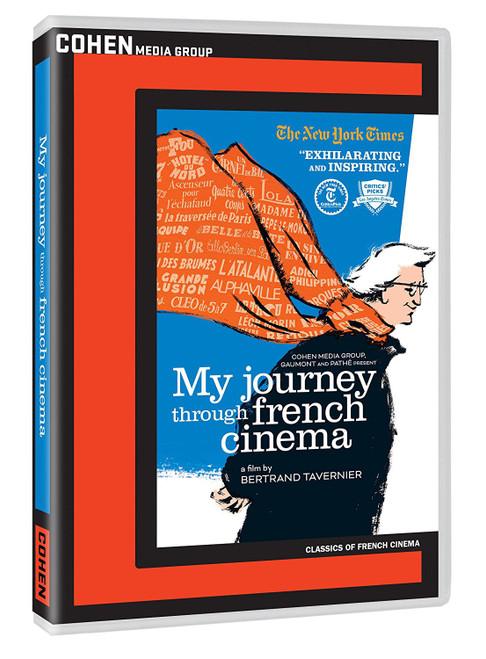 My Journey Through French Cinema (region-1 DVD)