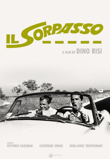 Il Sorpasso (Criterion movie poster)