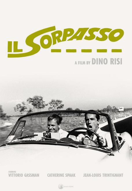 Il Sorpasso (Criterion movie poster)