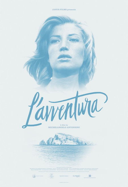 L'avventura (Criterion movie poster)