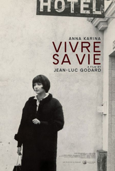 Vivre sa vie (Criterion movie poster)