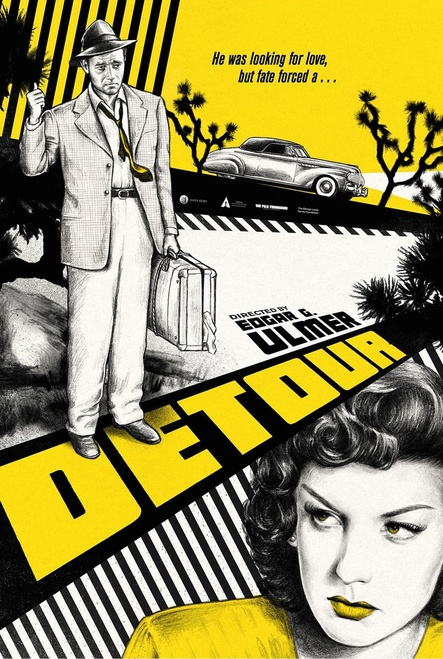 Detour (Criterion movie poster)
