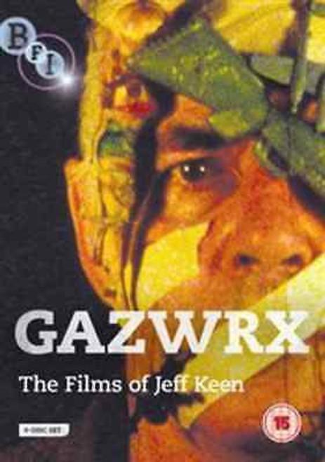Gazwrx: The films of Jeff Keen (region-2 4DVD set)