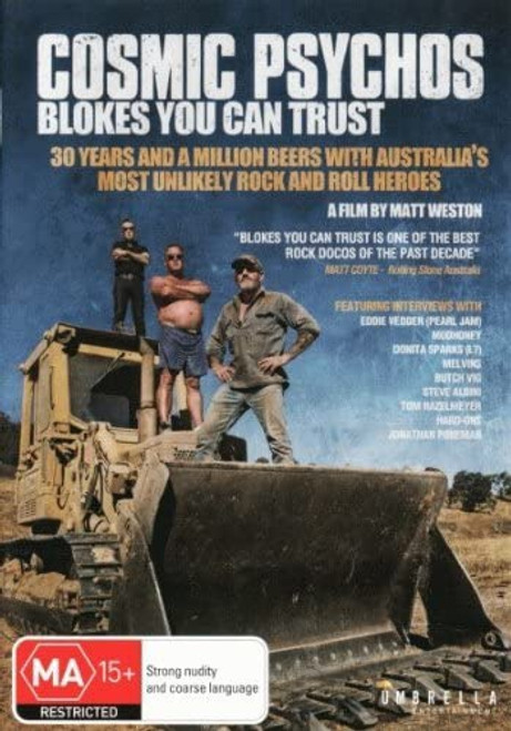Cosmic Psychos: Blokes You Can Trust (region-free 2DVD set)