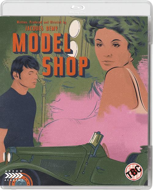 Model Shop (region-B blu-ray)