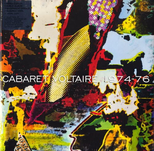 Cabaret Voltaire 1974-76 (limited edition double coloured vinyl)